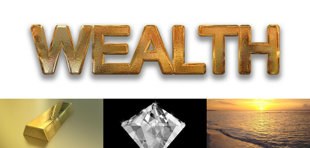Wealth Riches Investment Money Exotic Destinations