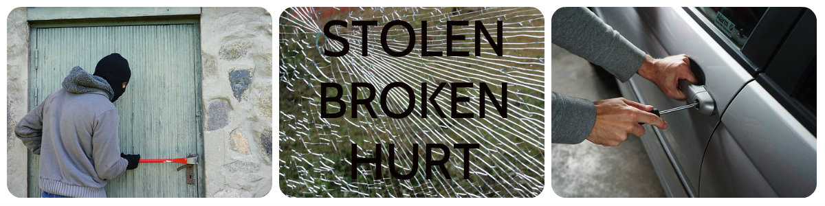 Short Term Vehicles household contents home owners insurance stolen broken hurt