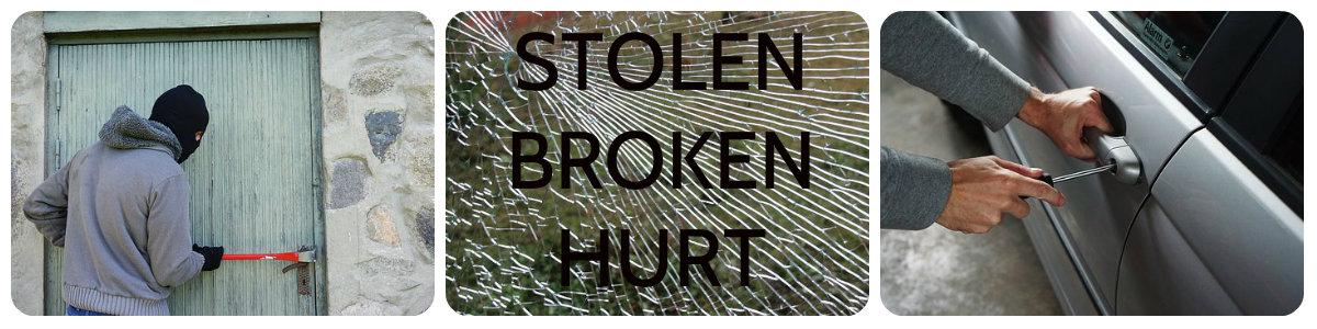 Short Term Vehicles household contents home owners insurance stolen broken hurt